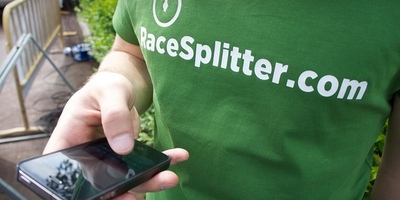 RaceSplitter demonstration at the Sierra Elvira Spanish Cup mountain trail race