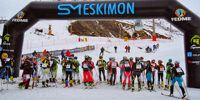 RaceSplitter opened the cross country skiing National Championship in Spain